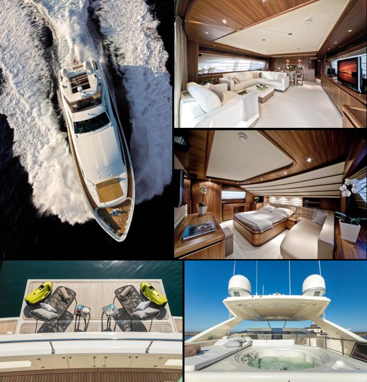 Ferretti CL 97 yacht rental