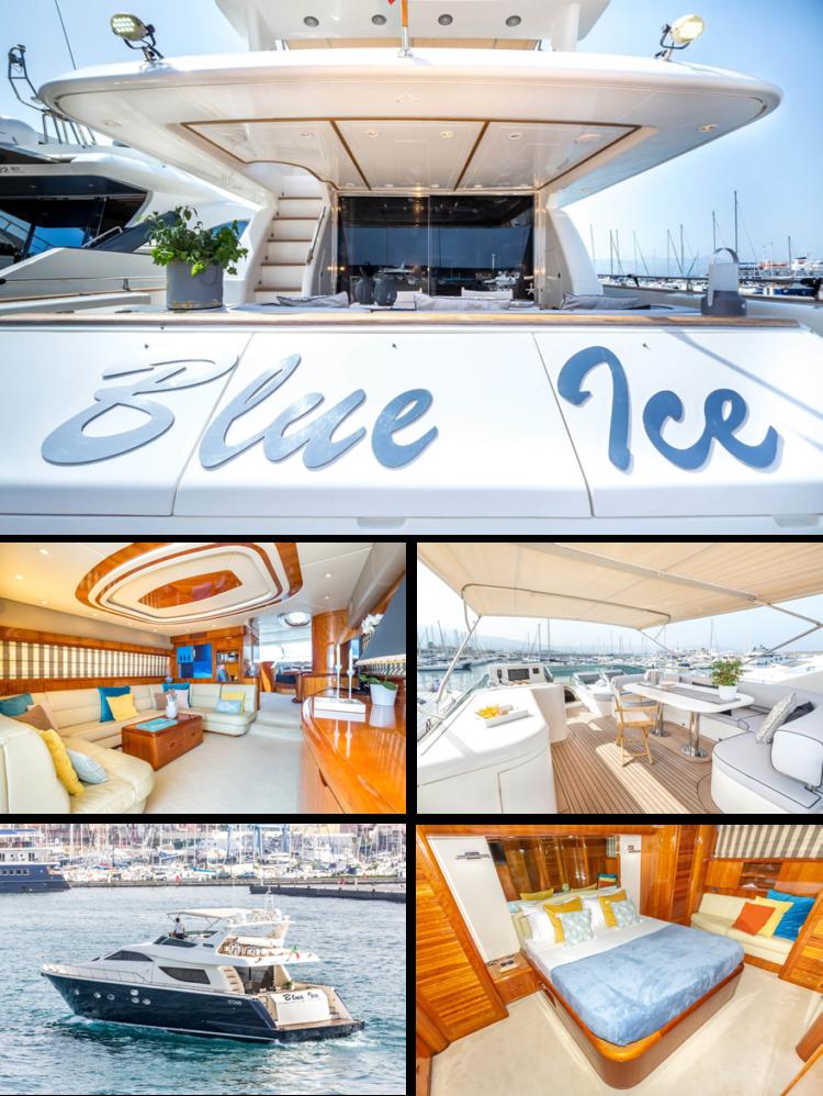 holiday yacht Aicon 72 SL Arwen